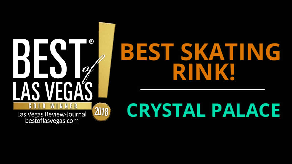Voted Best of Las Vegas Skating Rink 2016, 2017 and 2018