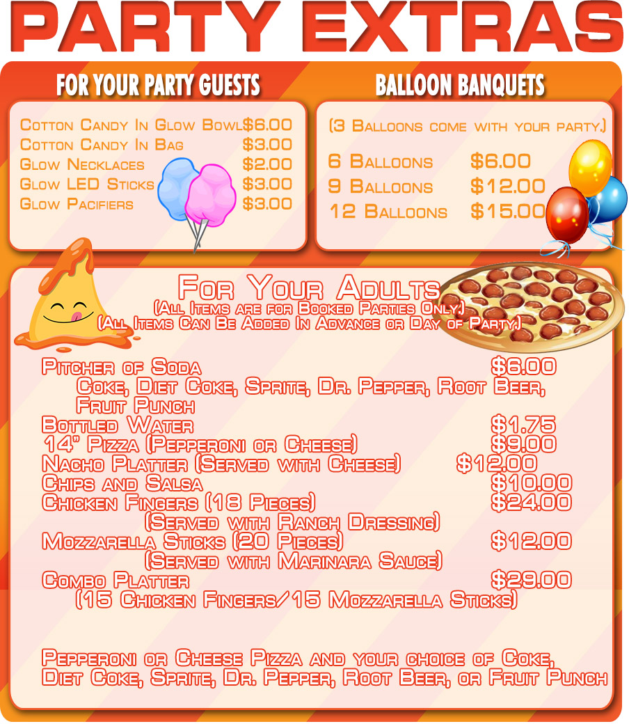 Book Your Private Party with Basic Package.  Voted Best of Las Vegas Skating Rink